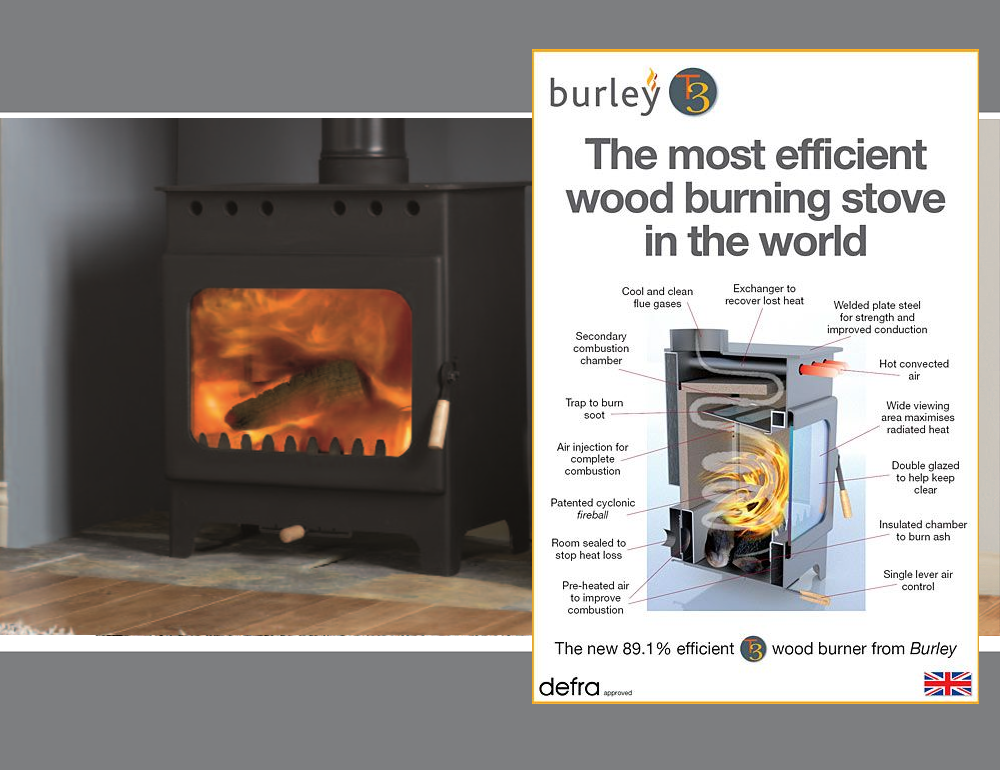The Most Efficient Wood Burning Stove In The World Grainger Fireplaces And Stoves